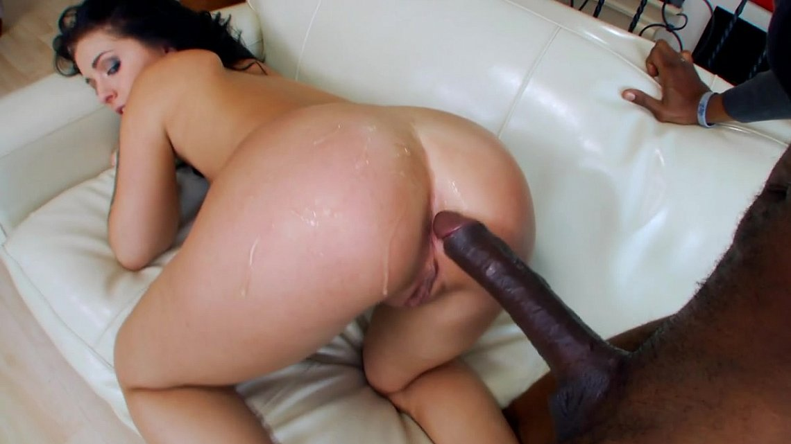 Monster black cock rip pussy video
