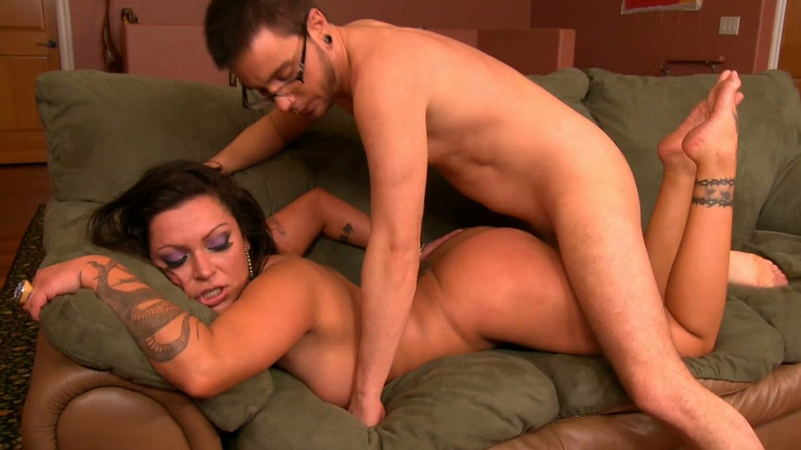 Two Guy Friends Fucking Girl