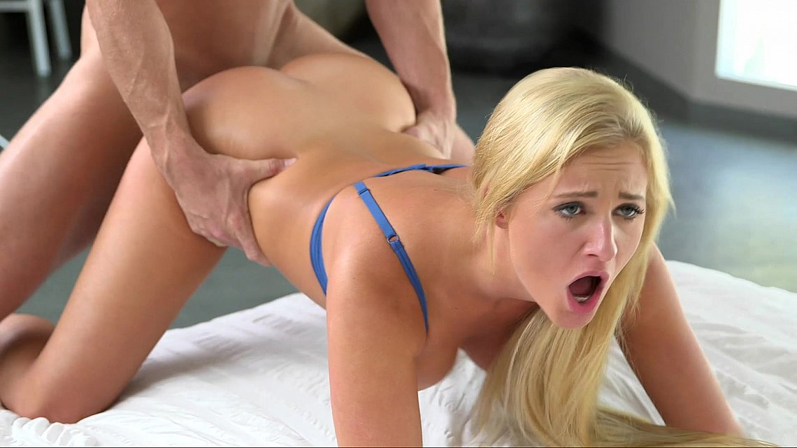 Blonde babe doggy style videos - XNXX. COM