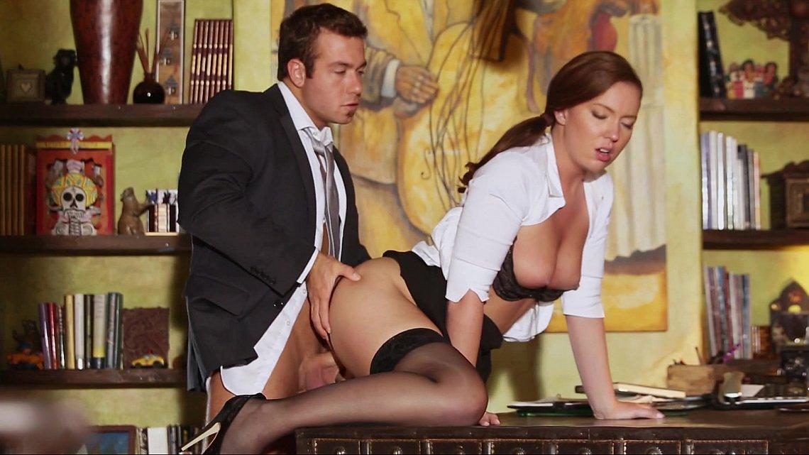 Секс фото секретарша и босс