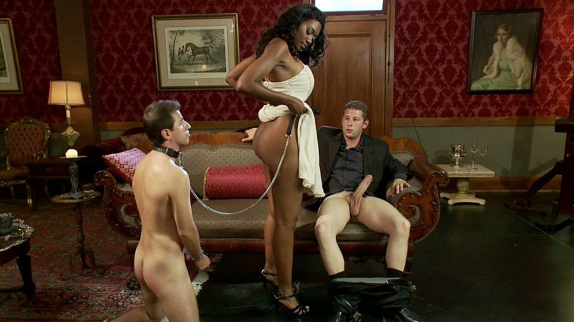 Реальное видео с рабынями женском