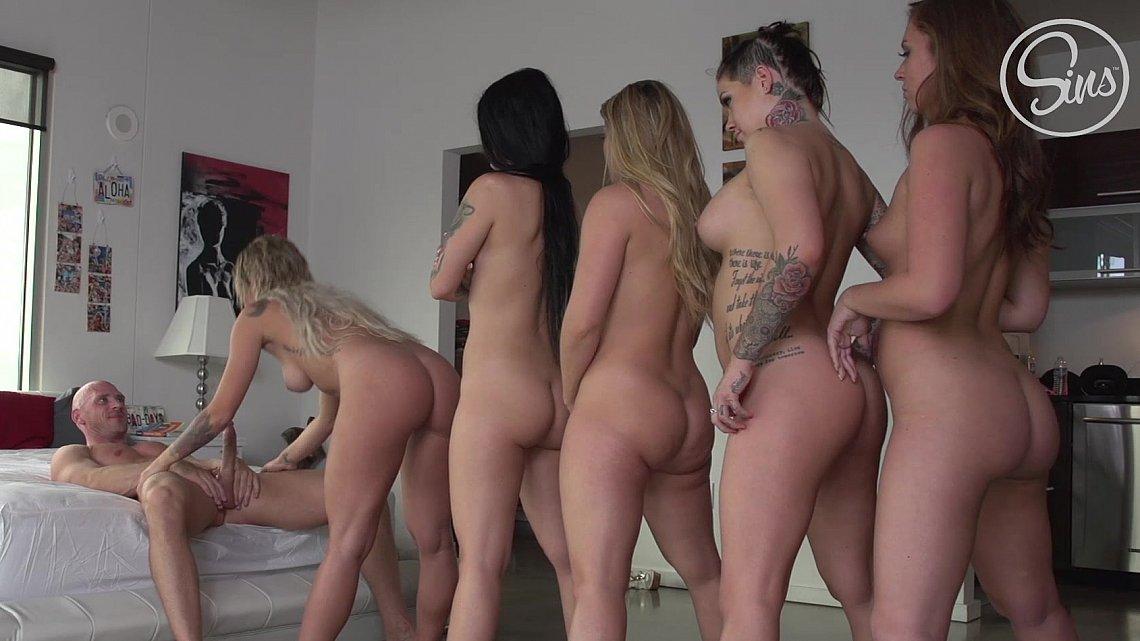 Punk girls nude video