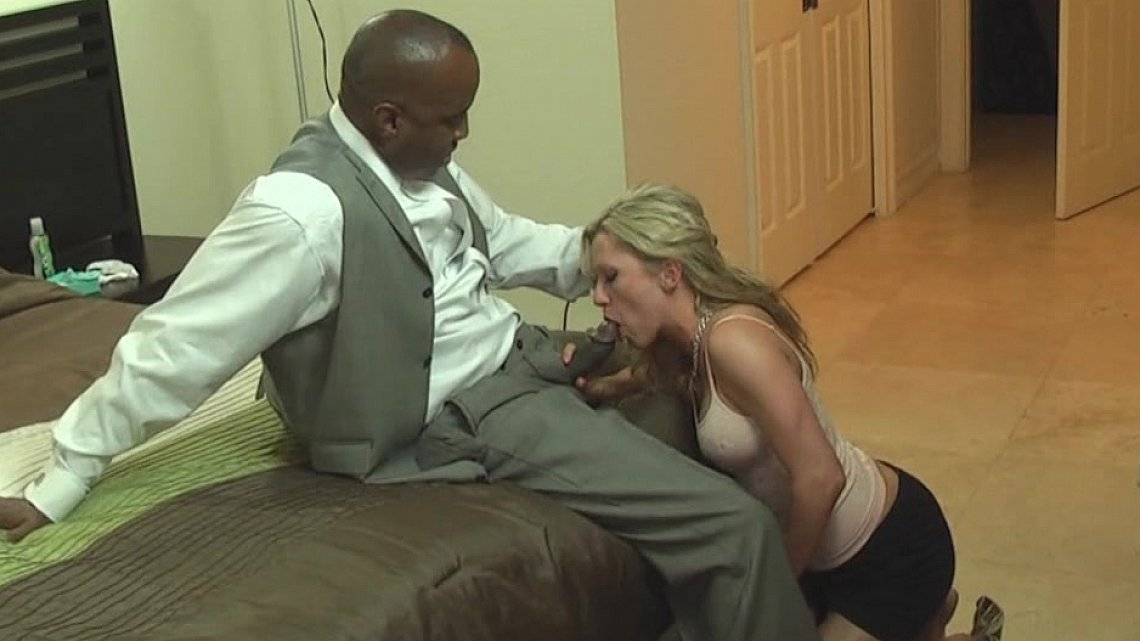 Wife fucked to pay husbands debts